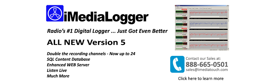 iMediaLogger - Versatility and proven performance